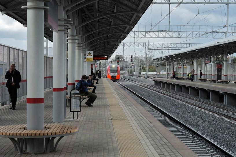 Станция Локомотив, платформа