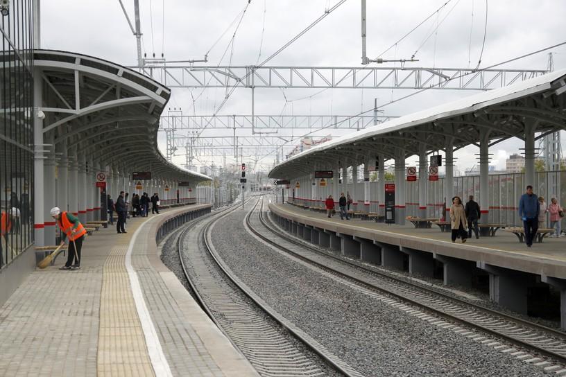 Станция Измайлово, платформа