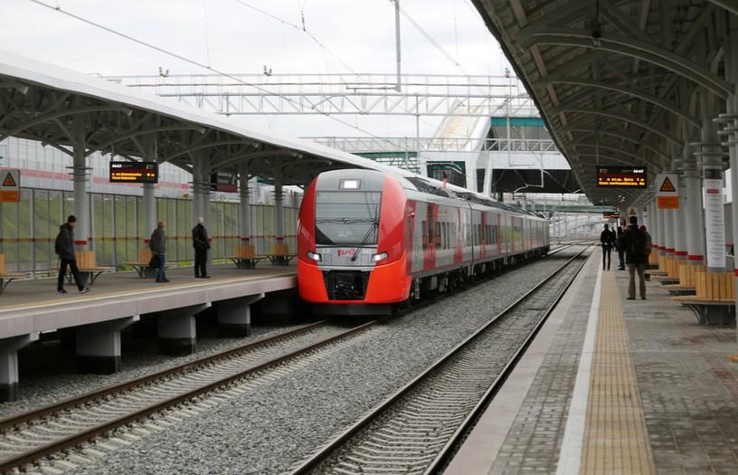 Станция Соколиная Гора, платформа