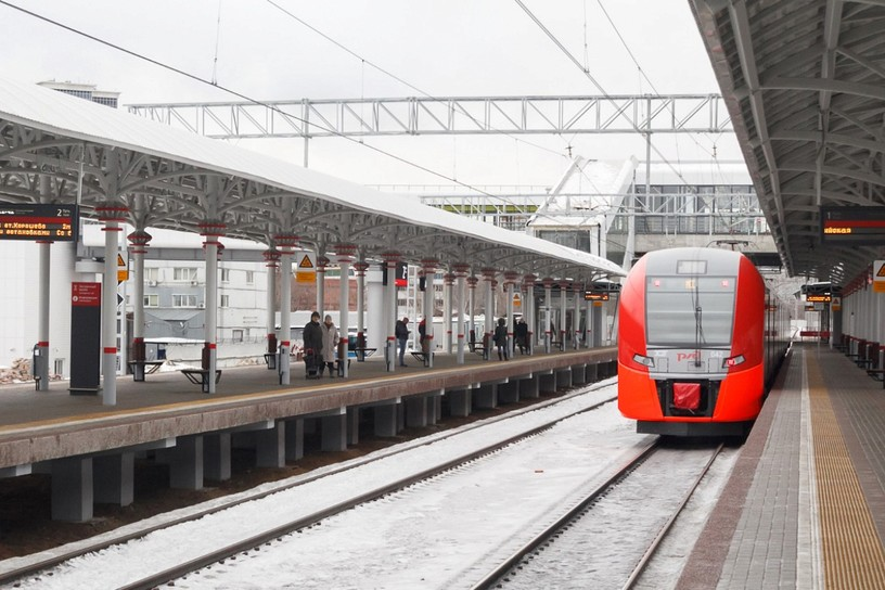 Станция Зорге, платформа