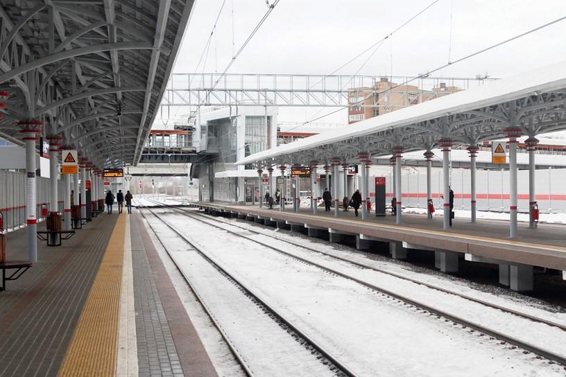 Станция Панфиловская, платформа