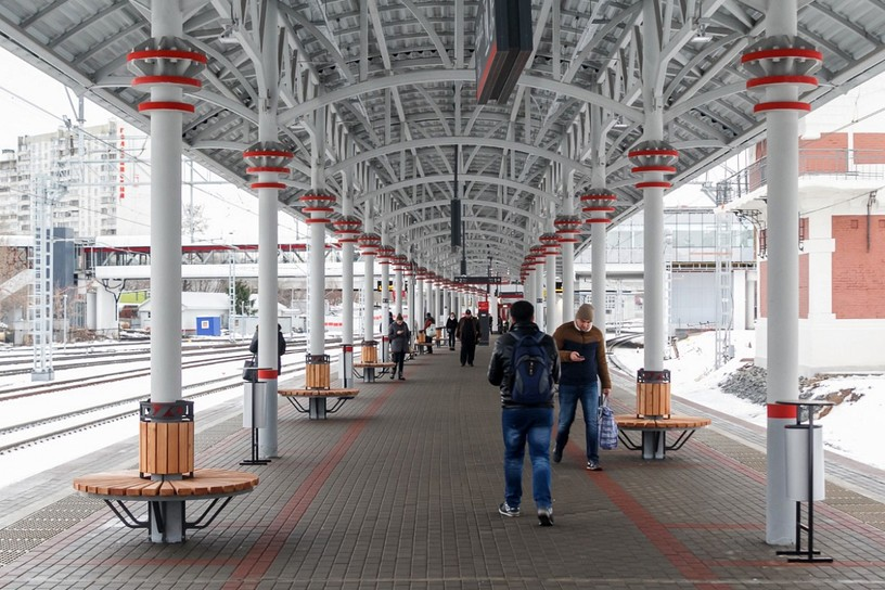 Станция Коптево, общий вид