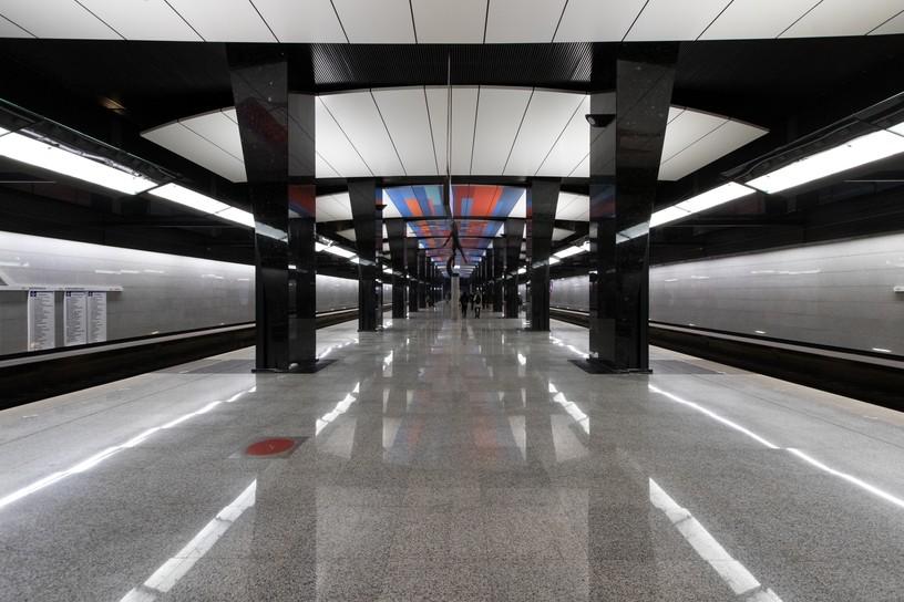Станция ЦСКА, общий вид