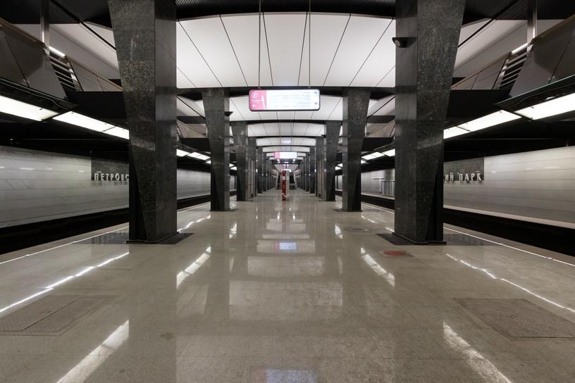 Станция Петровский парк, общий вид