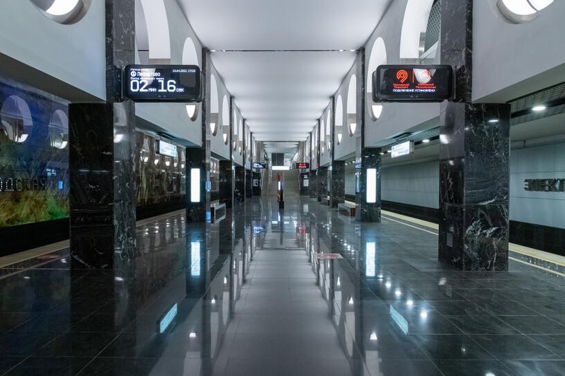 Станция Электрозаводская, общий вид
