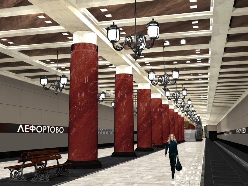 Станция Лефортово, проект