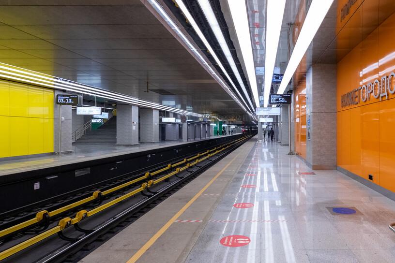 Станция Нижегородская, общий вид