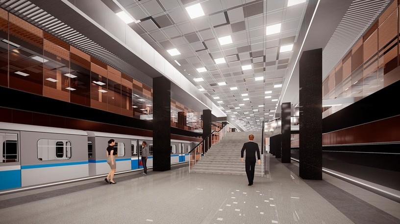 Станция Проспект Вернадского, проект