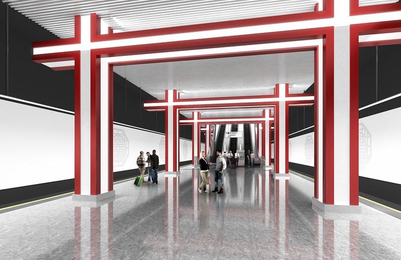 Станция Мичуринский проспект, проект