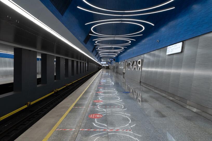 Станция Окская, общий вид