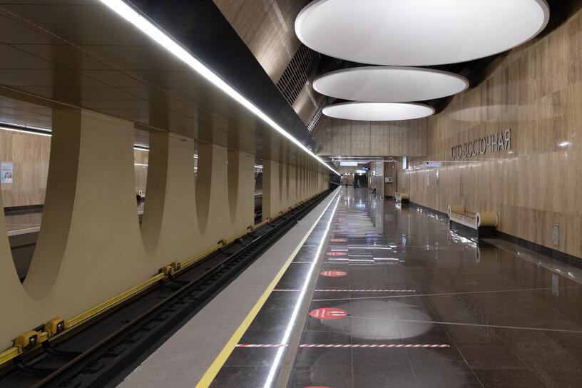 Станция Юго-Восточная, общий вид