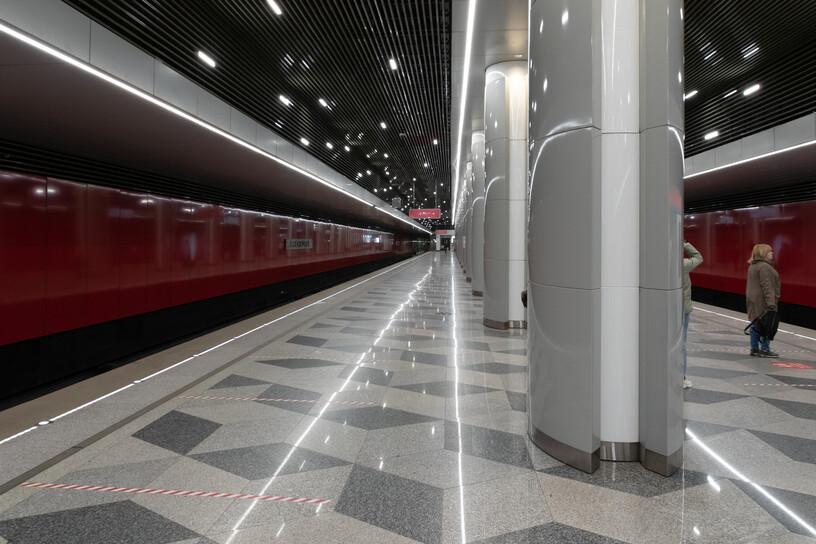 Станция Некрасовка, общий вид