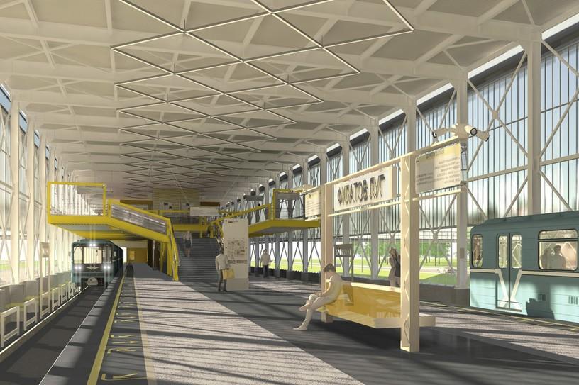 Станция Филатов луг, проект