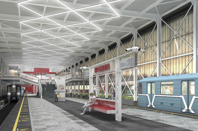 Станция Прокшино, проект