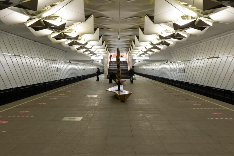Станция Ольховая, общий вид