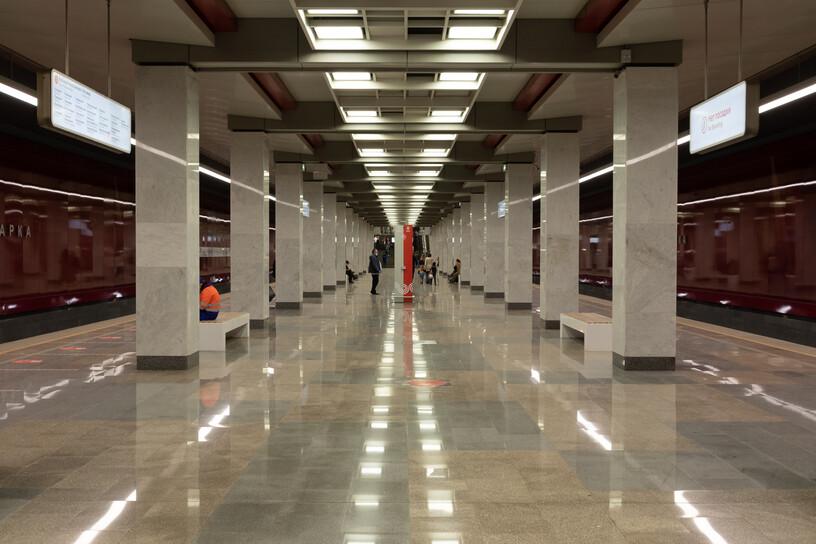 Станция Коммунарка, общий вид