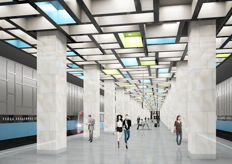 Станция Университет Дружбы Народов, проект