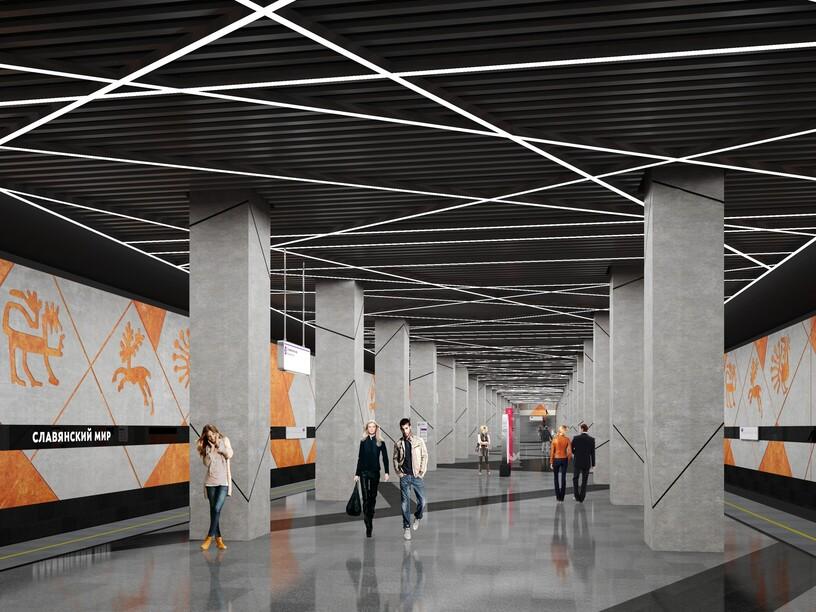 Станция Тютчевская, проект