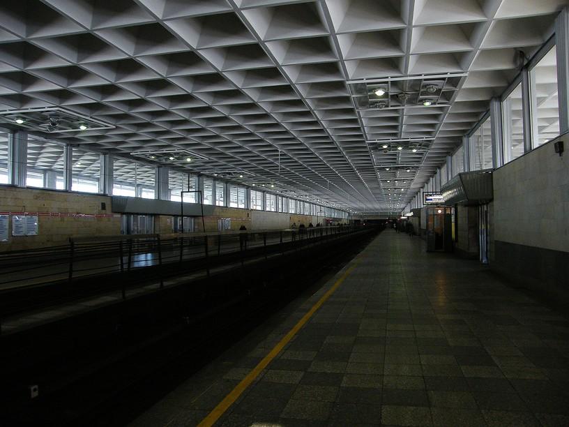 Станция Девяткино, платформа