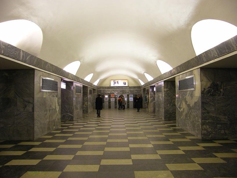 Станция Чернышевская, центральный неф