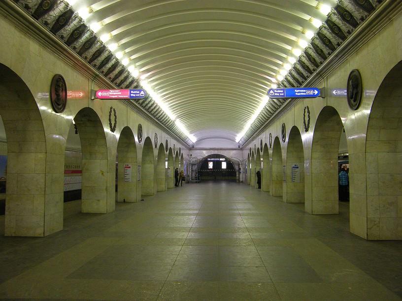"""Станция Технологический институт 1, западный зал """"Первый"""""""