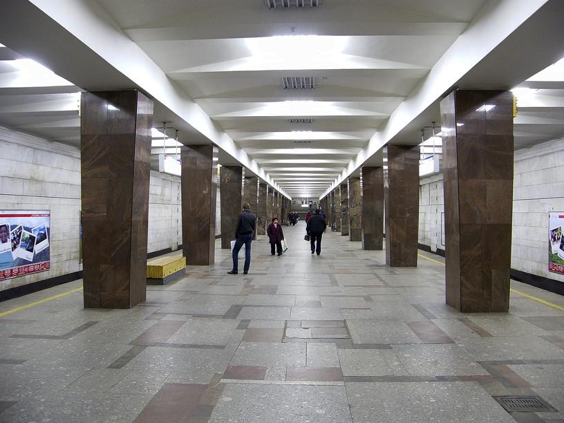Станция Ленинский проспект, общий вид