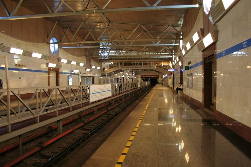 Станция Парнас, платформа