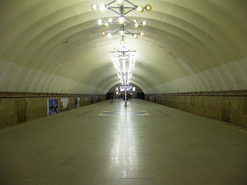 Станция Озерки, общий вид