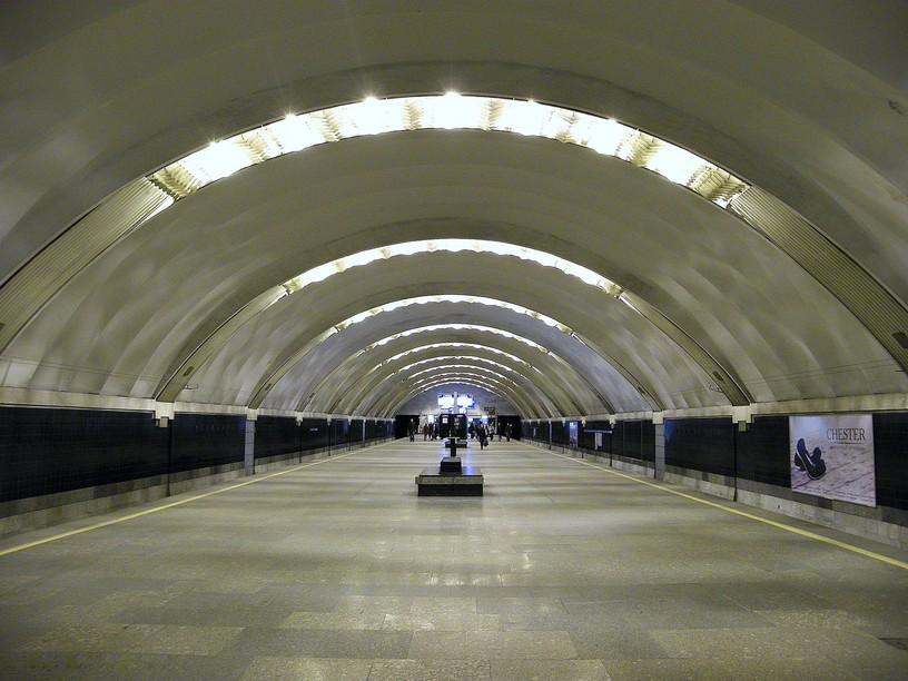Станция Удельная, общий вид
