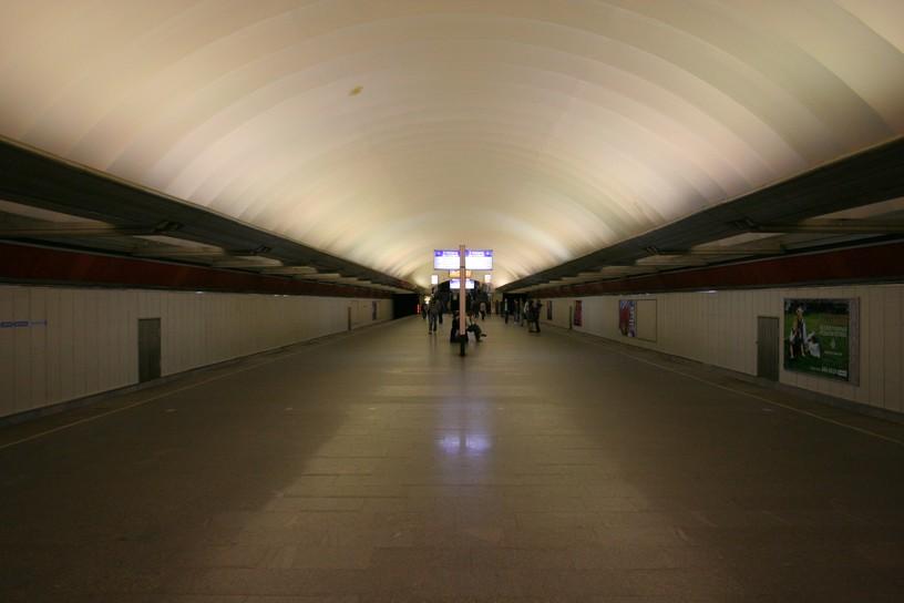 Станция Пионерская, общий вид