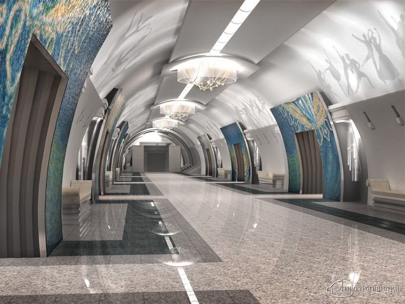 Станция Театральная, проект