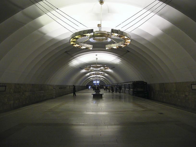 Станция Новочеркасская, общий вид
