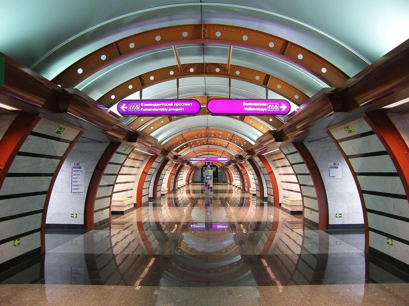 Станция Обводный канал, центральный неф