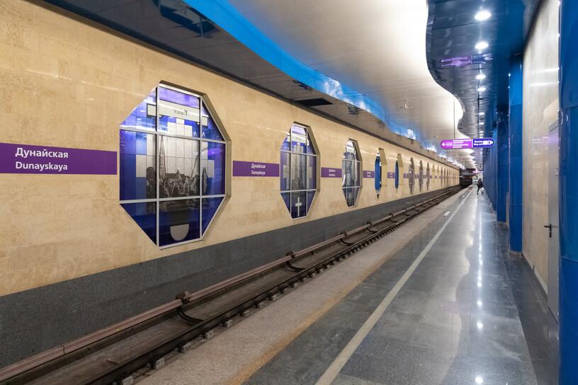 Станция Дунайская, общий вид