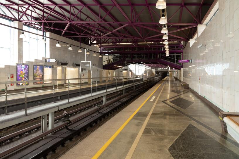 Станция Шушары, общий вид