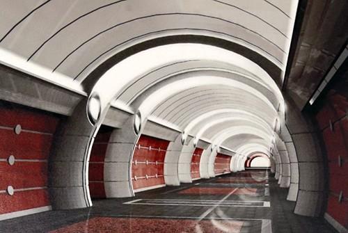 Станция Боровая, проект