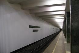 Станция Преображенская площадь, платформа