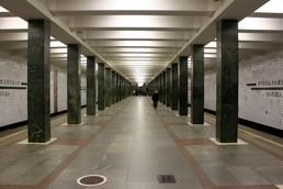 Станция Преображенская площадь, общий вид до реконструкции