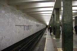 Станция Преображенская площадь, платформа до реконструкции