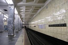 Станция Сокольники, платформа