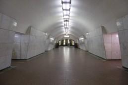 Станция Лубянка, центральный неф