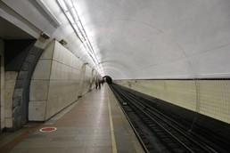 Станция Лубянка, боковой неф