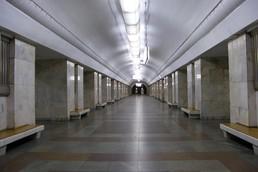 Станция Университет, центральный неф
