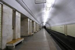 Станция Университет, боковой неф