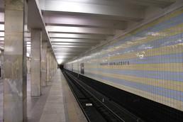 Станция Проспект Вернадского, платформа