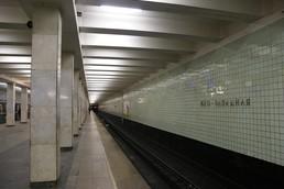 Станция Юго-Западная, платформа до реконструкции