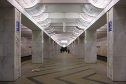 Станция Домодедовская, общий вид