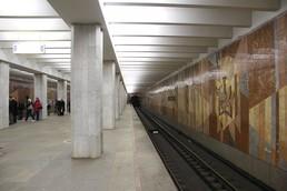 Станция Царицыно, платформа