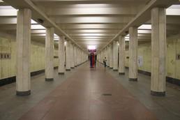 Станция Коломенская, общий вид