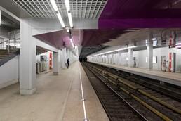 Станция Технопарк, платформа